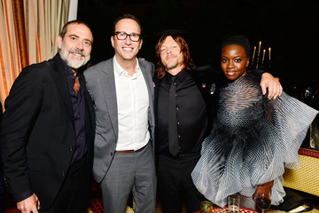 Jeffrey Dean Morgan Premiere Of AMC's 'The Walking Dead' Season 9 - After Party