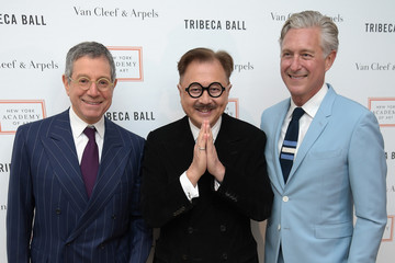 Jeffrey Deitch Michael Chow New York Academy of Art's Tribeca Ball 2016