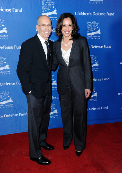 Kamala Harris And Jeffrey Katzenberg Photos The Children