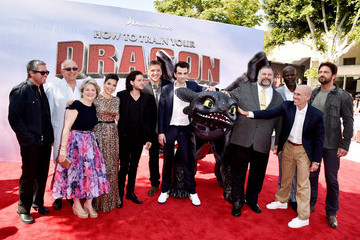 Jeffrey Katzenberg 'How to Train Your Dragon 2' Premieres in LA