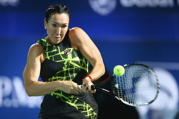 Jelena Jankovic WTA Dubai Duty Free Tennis  Championship - Day Two