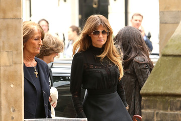 Jemima Khan Memorial Service For Mark Shand
