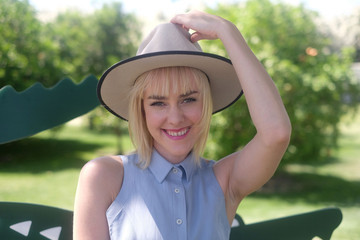 Jena Malone LACOSTE Beautiful Desert Pool Party - Day 1
