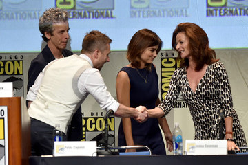 Jenna-Louise Coleman Comic-Con International 2015 - 'Con Man' The Fan Revolt 13 Years in the Making Panel
