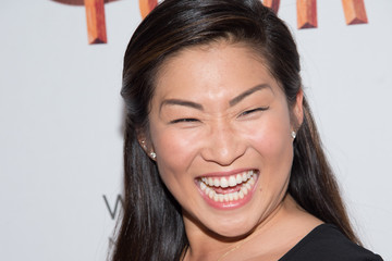 Jenna Ushkowitz 'Tuck Everlasting' Broadway Opening Night - Arrivals & Curtain Call
