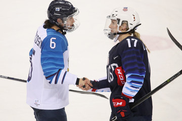 Jenni Hiirikoski Ice Hockey - Winter Olympics Day 10