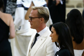 Jennifer Connelly Paul Bettany Heavenly Bodies: Fashion & The Catholic Imagination Costume Institute Gala - Outside Arrivals