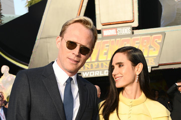 Jennifer Connelly Paul Bettany Premiere Of Disney And Marvel's 'Avengers: Infinity War' - Red Carpet
