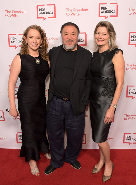 PEN America 2018 LitFest Gala [carpet,red carpet,little black dress,premiere,dress,event,flooring,pen america 2018 litfest gala,beverly hills,california,beverly wilshire four seasons hotel,ceo,pen america,suzanne nossel,jennifer egan,ai weiwei]