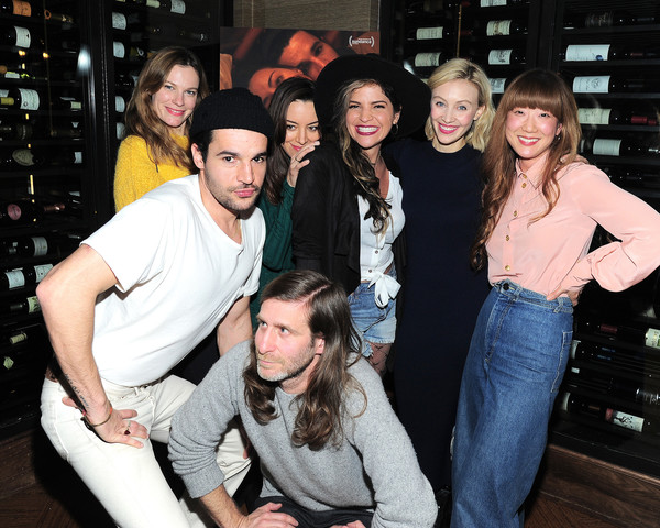 "Private Dinner During Sundance For ""Blackbear"" Hosted By RAND Luxury [social group,fun,event,friendship,photography,party,jeans,leisure,christopher abbott,sarah gadon,lawrence michael levine,jennifer kim,aubrey plaza,lindsay burdge,blackbear,rand luxury,dinner,sundance,christopher abbott,aubrey plaza,sarah gadon,lawrence michael levine,lindsay burdge,black bear,sundance film festival,getty images,photograph]"