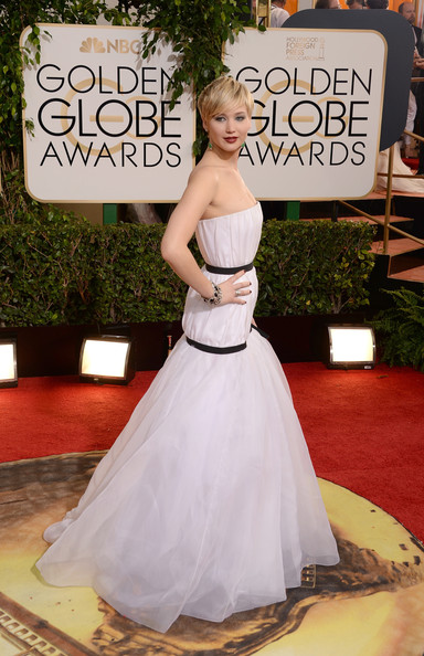 Jennifer Lawrence - 71st Annual Golden Globe Awards - Arrivals