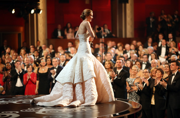 Jennifer Lawrence - 85th Annual Academy Awards - Backstage
