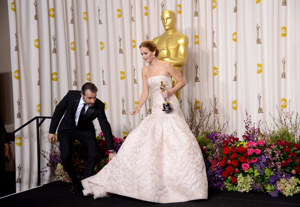 Jennifer Lawrence - 85th Annual Academy Awards - Press Room