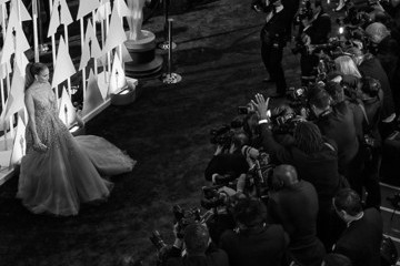Jennifer Lopez Alternative View of the 87th Annual Academy Awards