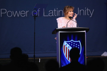 Jennifer Lopez Michelle Obama Addresses LULAC Convention