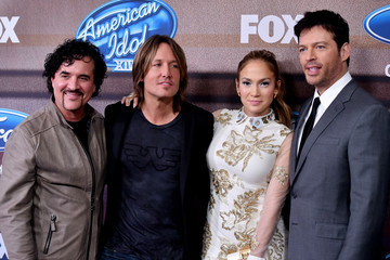 Jennifer Lopez Keith Urban 'American Idol XIV' Finalist Party