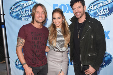 Jennifer Lopez Keith Urban 'American Idol XIV' Red Carpet Event