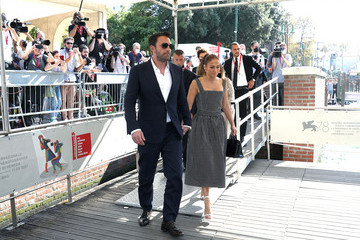 """Jennifer Lopez The Cast Of 20th Century Studios' """"The Last Duel"""" Arrivals For The Photocall - The 78th Venice International Film Festival"""