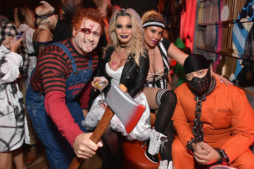 Jennifer Mazur Heidi Klum's 17th Annual Halloween Party sponsored by SVEDKA Vodka at Vandal New York - Inside