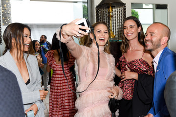 Jennifer Morrison Jamie Chung Ira And Bill DeWitt Host Saint Candle Launch Benefiting St. Jude Children's Research Hospital At Mr. Chow