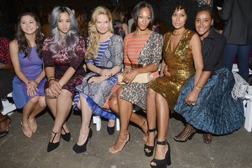 Jennifer Morrison Tracy Reese - Front Row - Mercedes-Benz Fashion Week Spring 2015