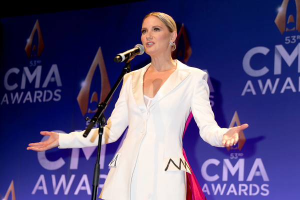 The 53rd Annual CMA Awards - Press Room