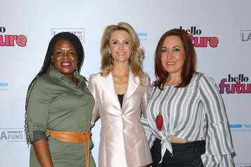 Jennifer Siebel Newsom Cori Bush The LA Promise Fund's Hello Future Summit