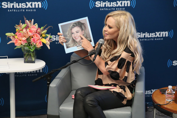Jenny McCarthy Launches New Series 'Inner Circle' on Her SiriusXM Show 'The Jenny McCarthy Show' [the jenny mccarthy show,series,show,blond,beauty,fashion,sitting,event,footwear,media,table,electronic device,long hair,series,kelly clarkson,jenny mccarthy launches new,jenny mccarthy,guest,on her siriusxm show,inner circle]