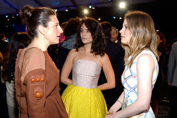 Jenny Slate  Gillian Robespierre 2015 Film Independent Spirit Awards - Backstage And Audience