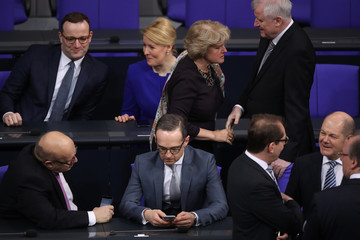 Jens Spahn New German Government Sworn In, Merkel Takes Fourth Term