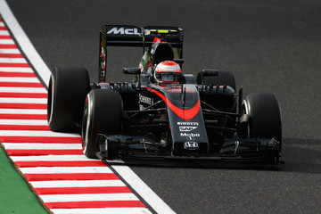 Jenson Button F1 Grand Prix of Japan - Qualifying