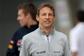 Jenson Button F1 Grand Prix of China: Practice
