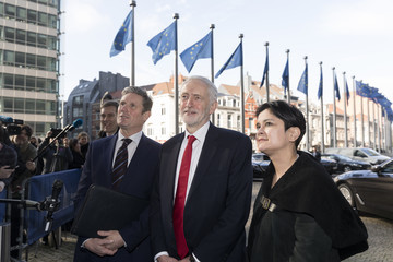 Jeremy Corbyn European Best Pictures Of The Day - February 21, 2019