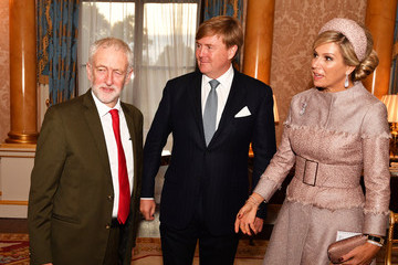 Jeremy Corbyn State Visit Of The King And Queen Of The Netherlands - Day One