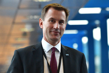 Jeremy Hunt The Conservative Party Conference 2016 - Day Four