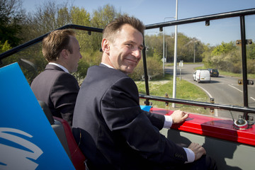Jeremy Hunt On The Campaign Trail With The Thurrock Conservatives