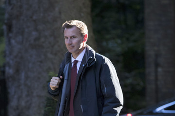 Jeremy Hunt Ministers Attend The Weekly Government Cabinet Meeting
