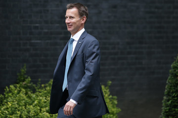 Jeremy Hunt Cabinet Meeting at 10 Downing Street
