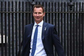 Jeremy Hunt Theresa May Holds First Cabinet Meeting Since Conservative Party Conference