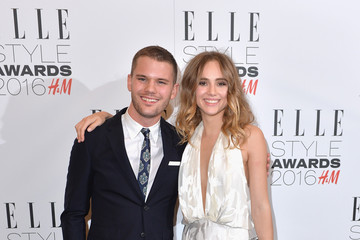 Jeremy Irvine Elle Style Awards 2016 - Winners Room