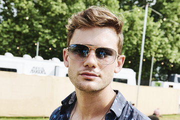 Jeremy Irvine Ray-Ban Studios At All Points East Festival