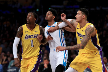 Jeremy Lamb Charlotte Hornets v Los Angeles Lakers
