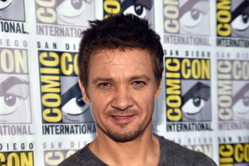 "Jeremy Renner Marvel's Hall H Press Line For ""Ant-Man"" And ""Avengers: Age Of Ultron"""