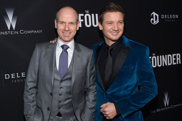 Jeremy Renner Premiere of The Weinstein Company's 'The Founder' - Arrivals