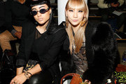 Singers Natalia Kills and CL 2ne1 attend the Jeremy Scott fall 2013 fashion show during MADE fashion week at Milk Studios on February 13, 2013 in New York City.