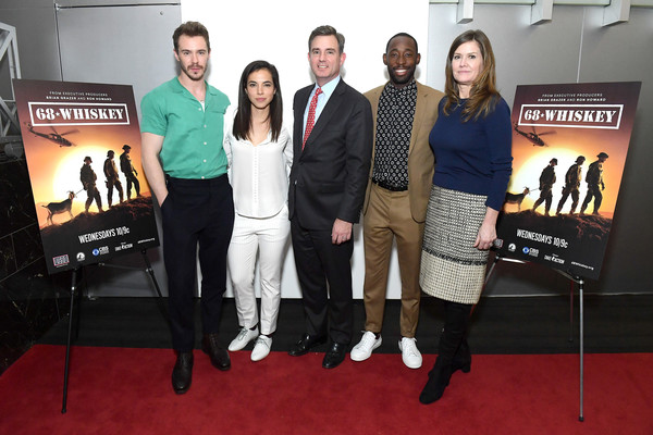 Paramount Network 68 Whiskey USO Screening Event At ViacomCBS NYC Headquarters On February 12, 2020