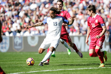 Jermaine Jones Serbia v United States