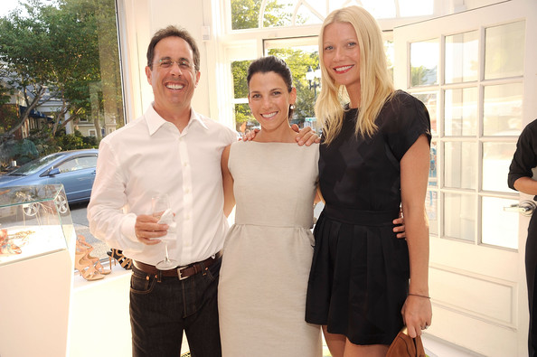 jerry seinfeld wife. (L-R) Jerry Seinfeld, wife