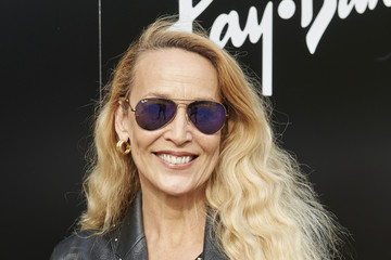 Jerry Hall Ray-Ban Rooms at 'Barclaycard Presents: British Summer Time in Hyde Park'