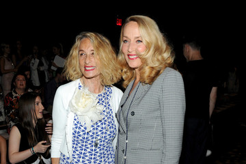 Jerry Hall The Marchesa Spring/Summer 2017 Fashion Show Co-Hosted by FIJI Water